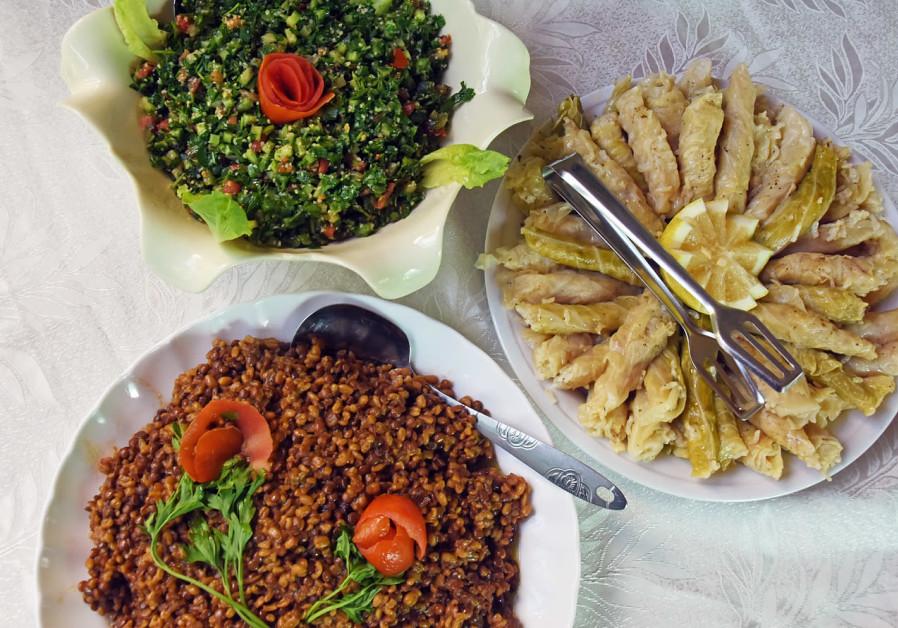 Druze dish Ibtisam / ITSIK MAROM