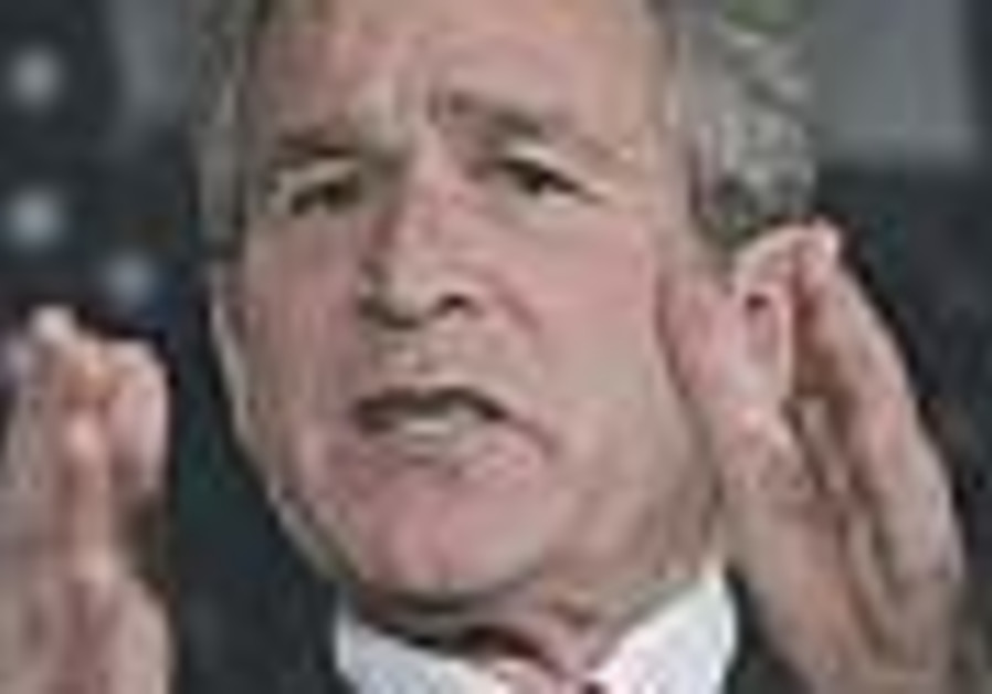 Bush demands Iraq money with no strings