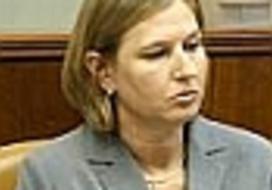 Analyze This: Livni's choice