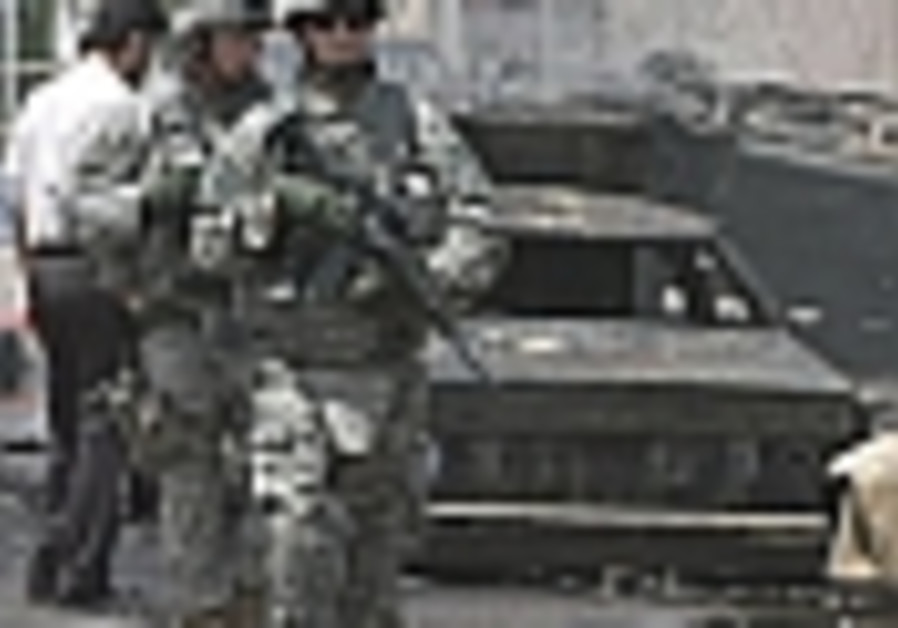 Five US troops killed in Baghdad attacks