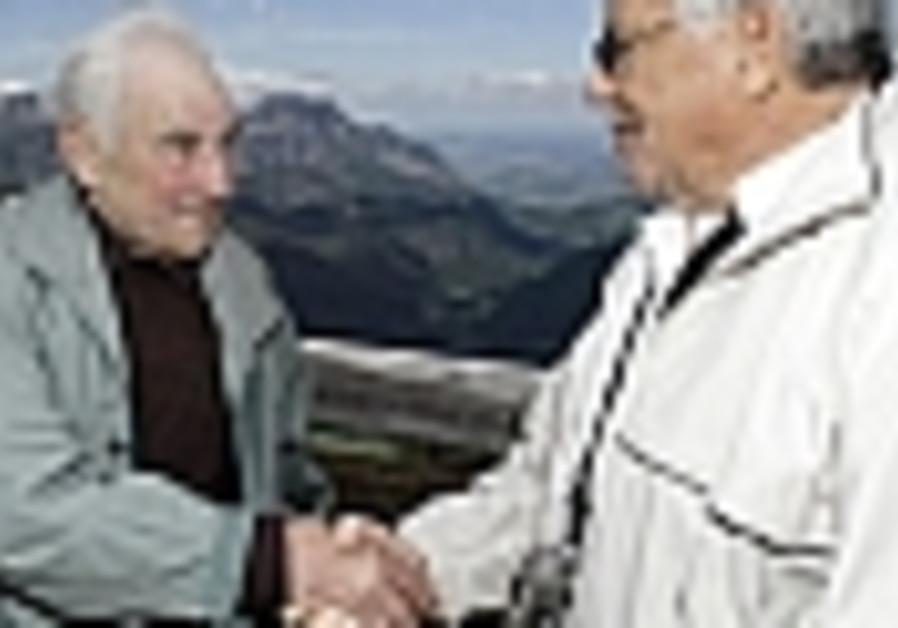 US Jewish and German veterans make belated peace
