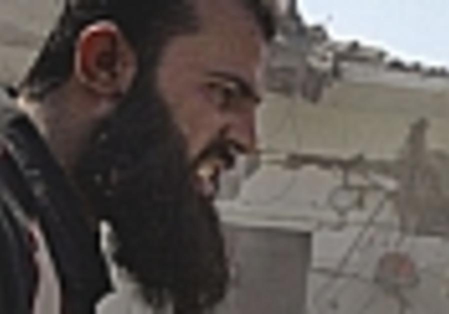 Bearded Gazans on razor's edge between life and death