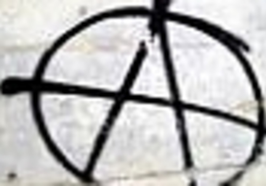 Right of Reply: Anarchy in the Holy Land!