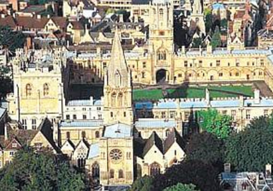 Oxford students blame Israel for bad Palestinian healthcare
