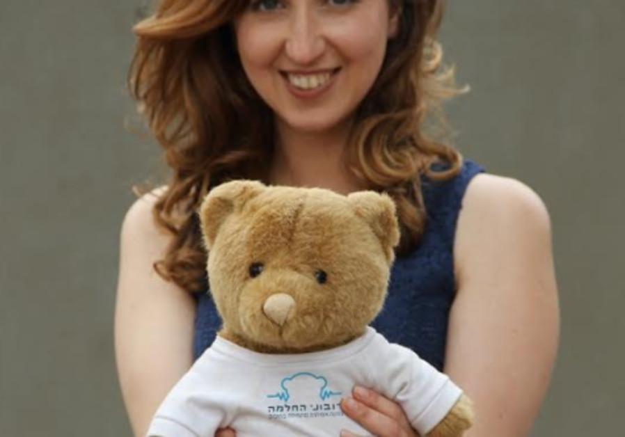 Ilana Konstantinovsky, founder of Ramat Gan-based charity Healing Teddies / Courtesy