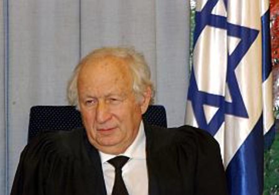 Ex-judge Cheshin vows to defend Supreme Court