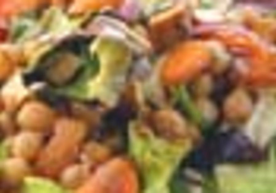 humous salad 88