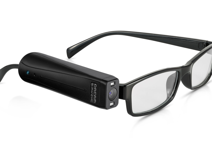 OrCam's MyEye 2 wearable artificial vision device (Credit: OrCam PR)