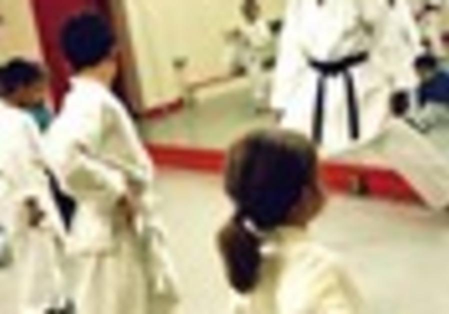 Karate kids create coexistence
