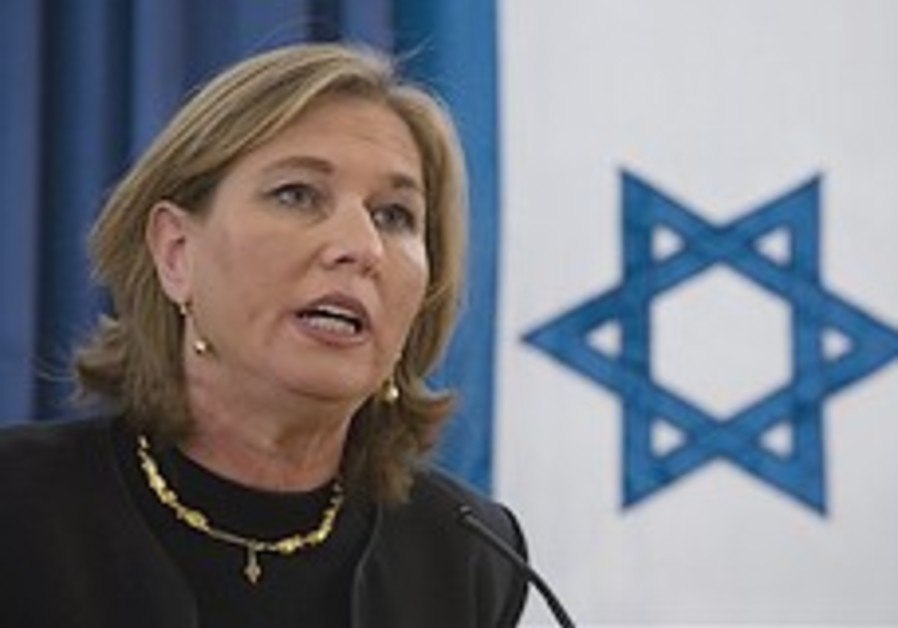 Livni heckled and booed at Jerusalem book launch