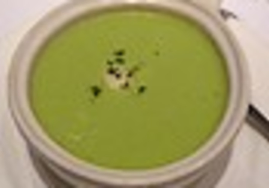 Cool-as-a-cucumber soup