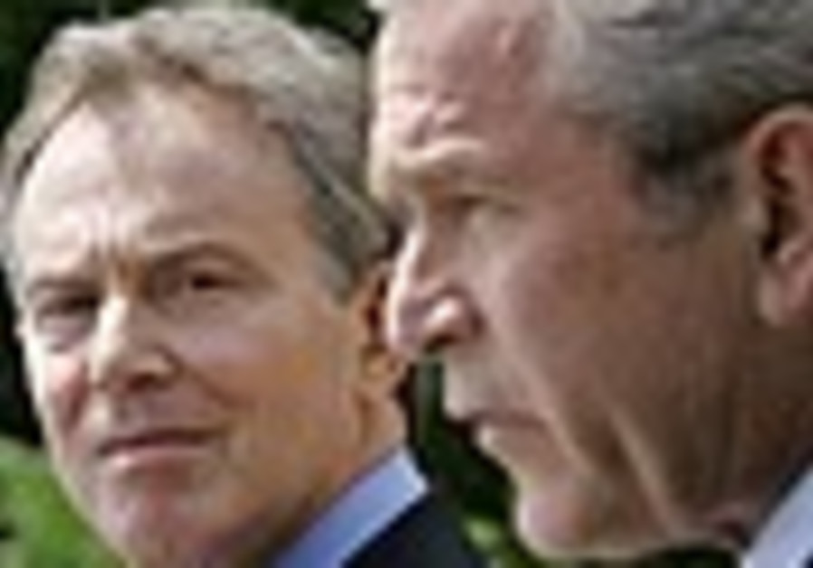 Blair to meet EU officials ahead of Middle East talks