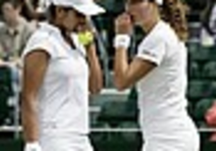 Tennis: Pe'er wins Stanford doubles title with Mirza