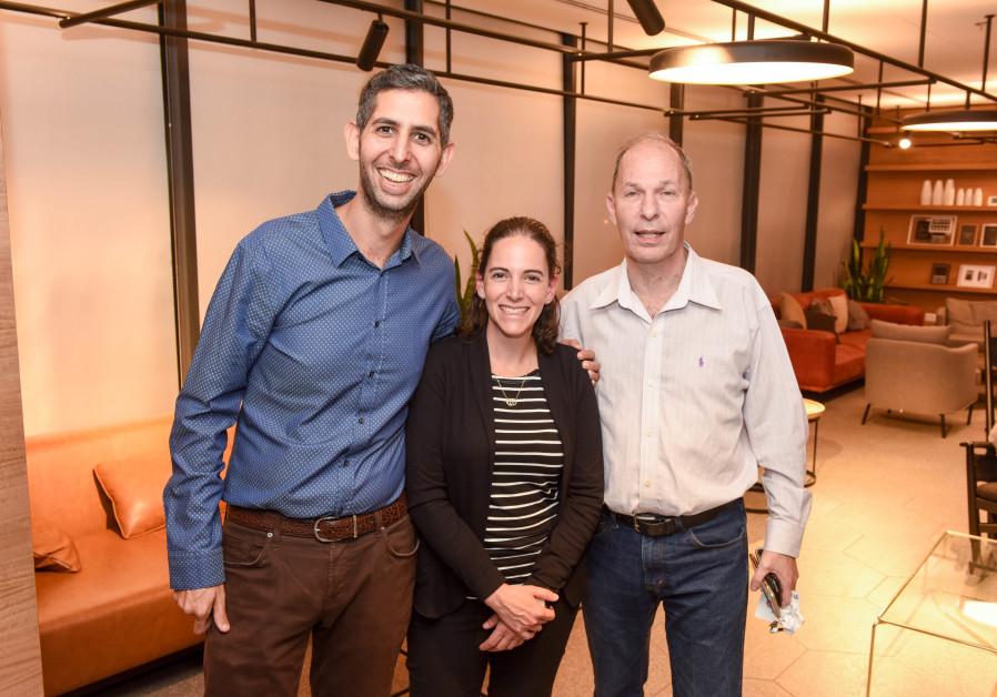 Future Mobility leaders Assaf Harlap (L), Michael Gelbart (C) and Ori Yogev (R) (Credit: Kfir Sivan)