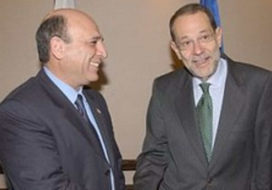 Jerusalem says Solana could trump ElBaradei