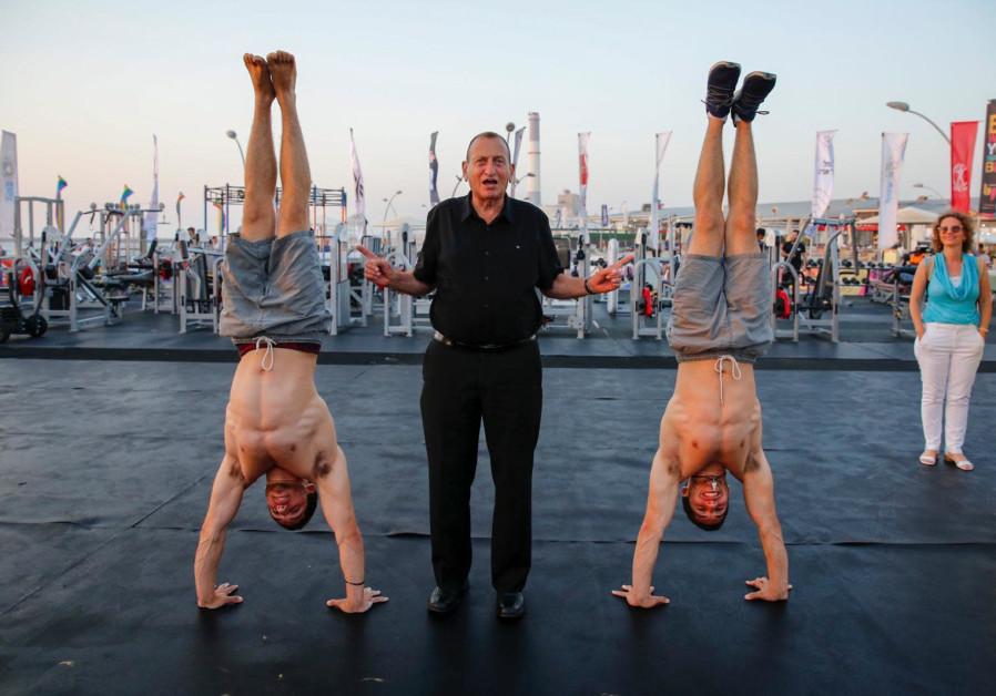 Tel Aviv Mayor Ron Huldai openes XPort / Guy Yechieli