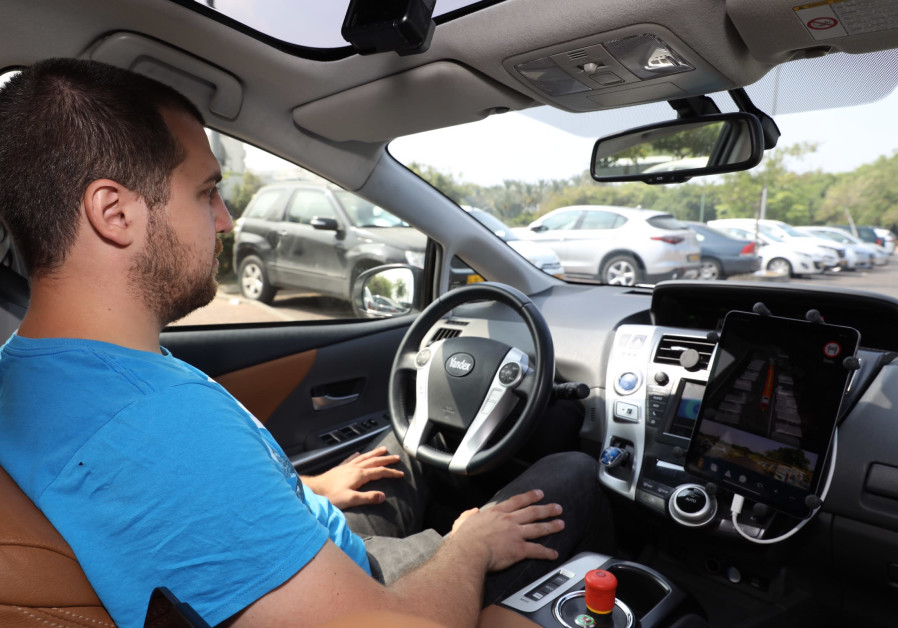 Yandex's self-driving car hits the streets of Tel Aviv