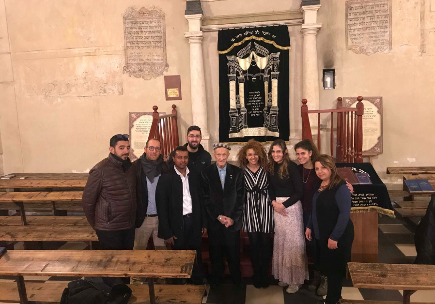 93-years-old Holocaust survivor and Krakow-born Edward Mosberg [C] / FROM THE DEPTHS