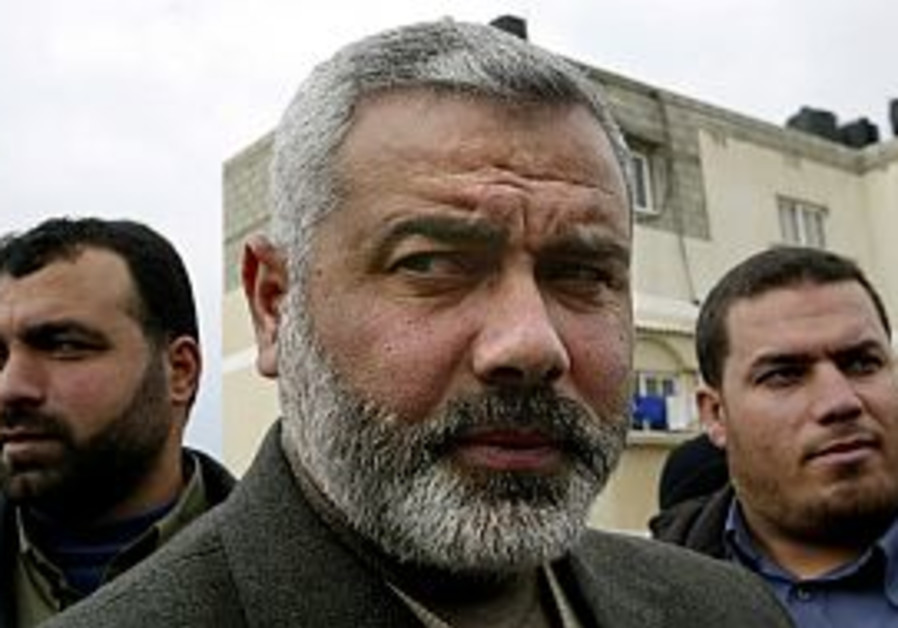 Haniyeh presents Hamas-led cabinet