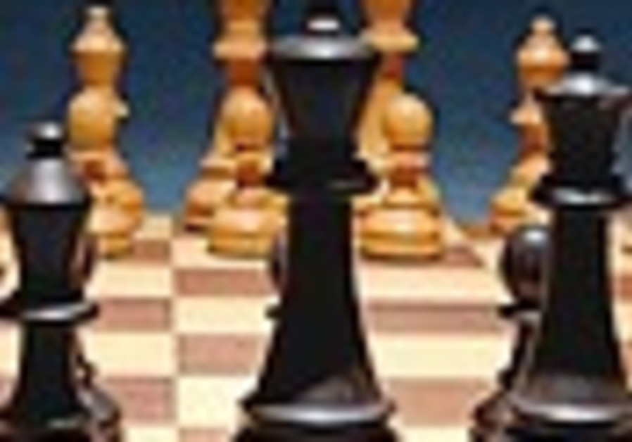 Israel set to destroy Iran . . . on the chess board