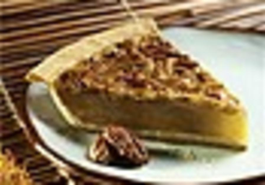 Chocolate lovers' pecan pie