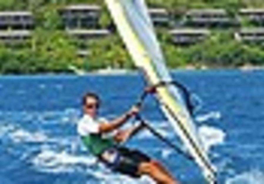 Windsurfer Mashiah claims silver medal