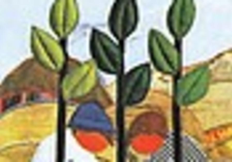 Zionism renews Tu Bishvat