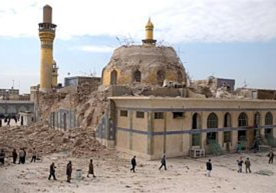 Iraq: Golden Dome bomber killed