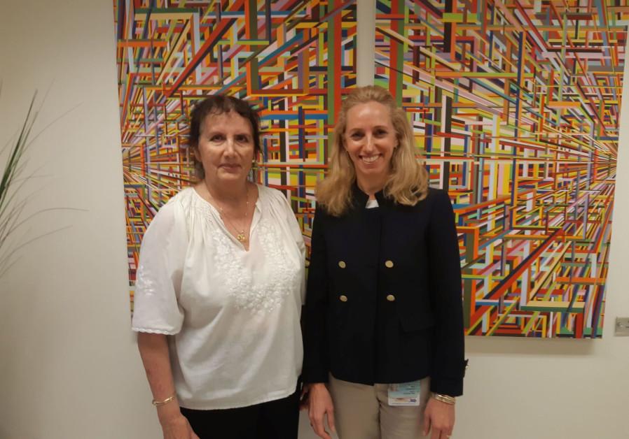 Prof. Malka Cohen-Armon and Dr. Talia Golan (Credit: Tel Aviv University)