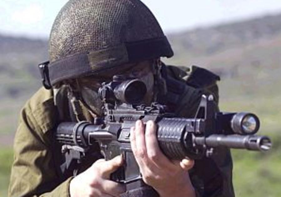 idf soldier gun 298 88 idf