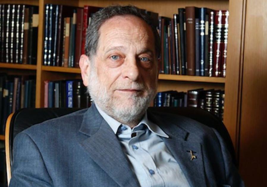 Hebrew University Professor Hervé Bercovier (Credit: Lior Mizrahi)