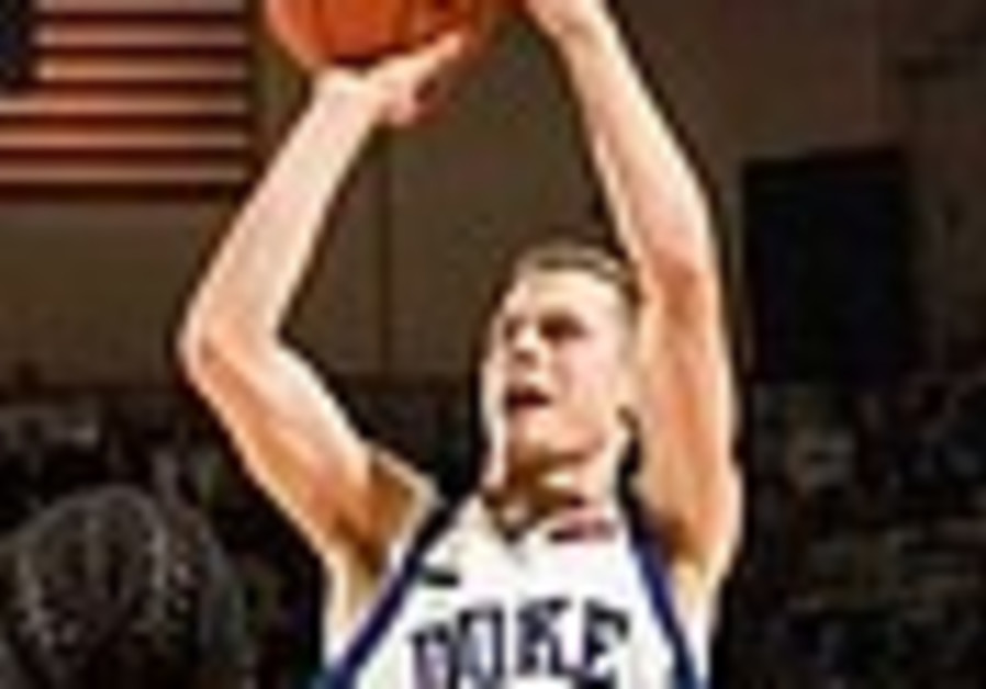 US Maccabiah team member Scheyer leads Duke to win ACC