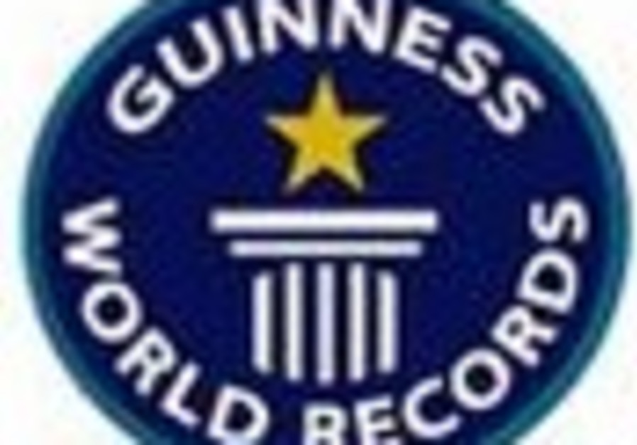 'Hatikva' to go for Guinness record