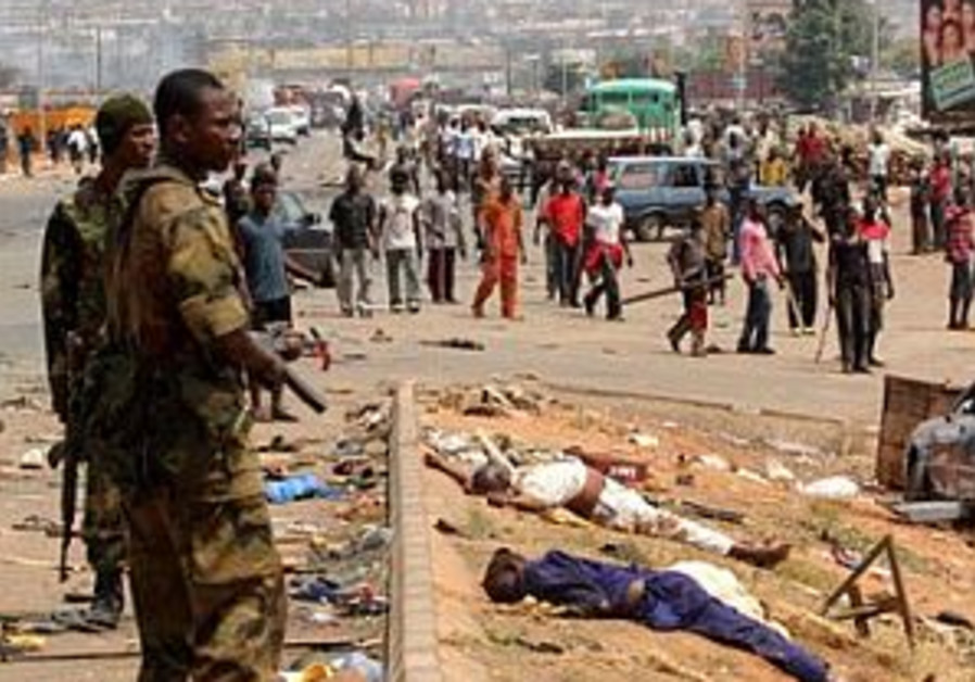 Sectarian violence continues in southern Nigerian