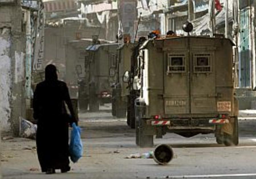 IDF denies killing man near Nablus