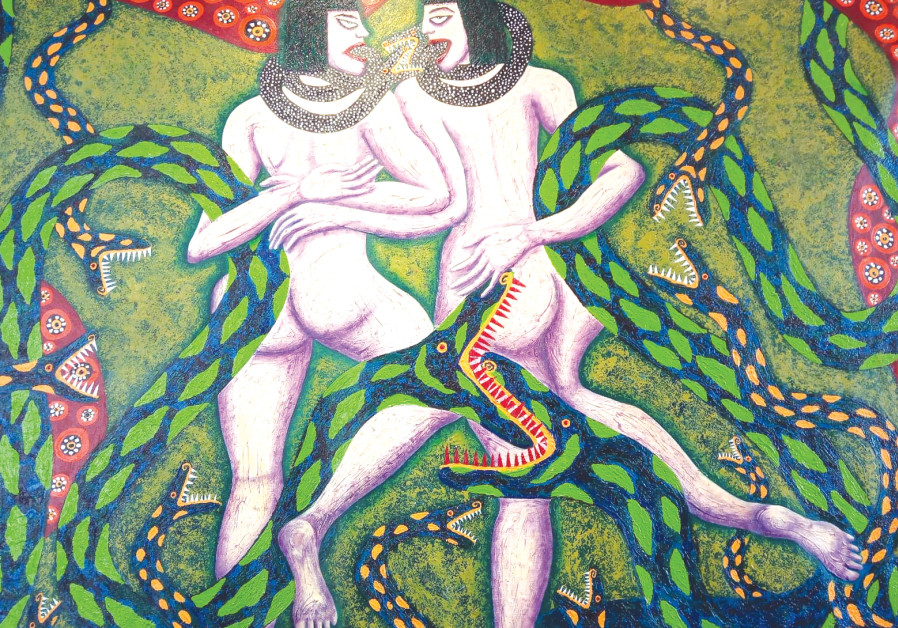 Snake Charmers by the Romano sisters SOURCE: Hagay Hacohen