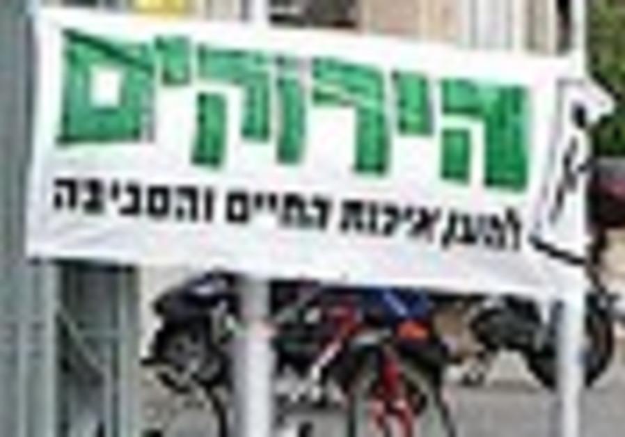 Bike-riding volunteers make final push for Greens