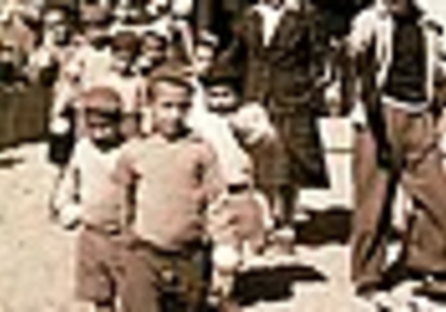 The ethnic cleansing of Arabic Jews