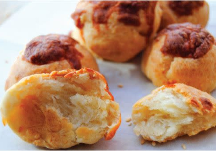 BOYKOS (MINI cheese buns) (Credit: PASCALE PEREZ-RUBIN and DROR KATZ)