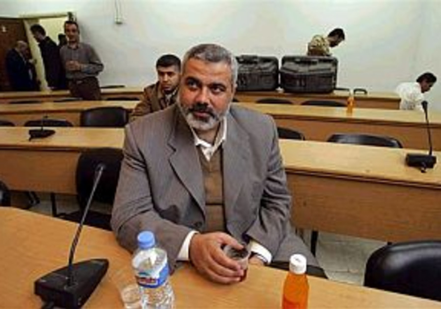 Haniyeh: PA will not cave in to demands