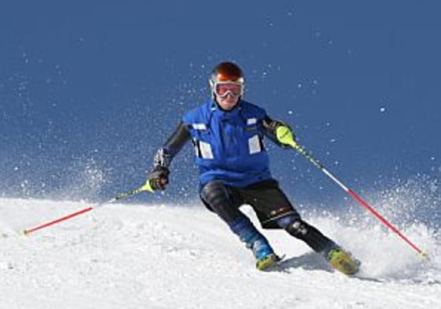 israeli olympic skier michael renzhin