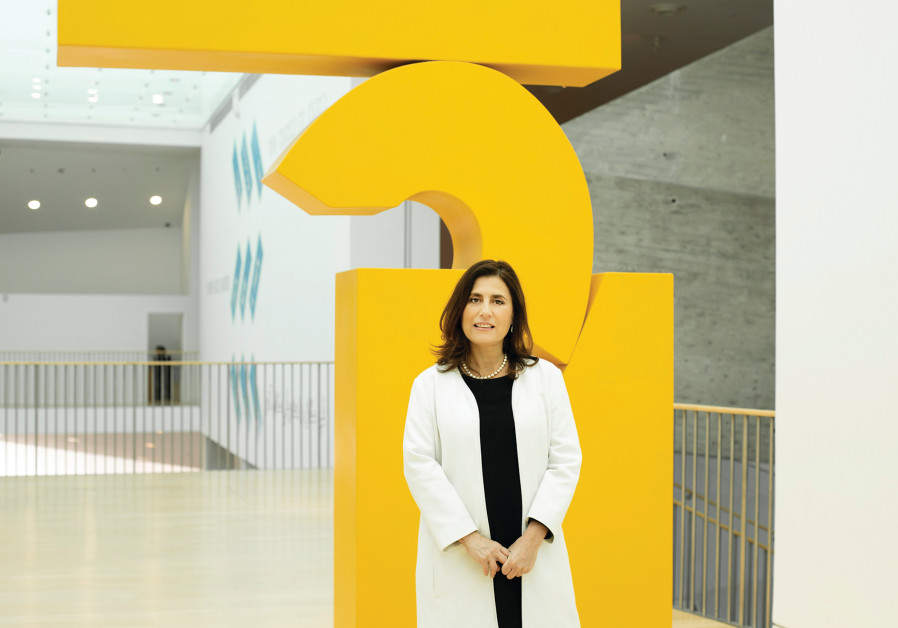 THE TEL AVIV Museum of Art's director Tania Coen-Uzzielli. (Roni Knaani)