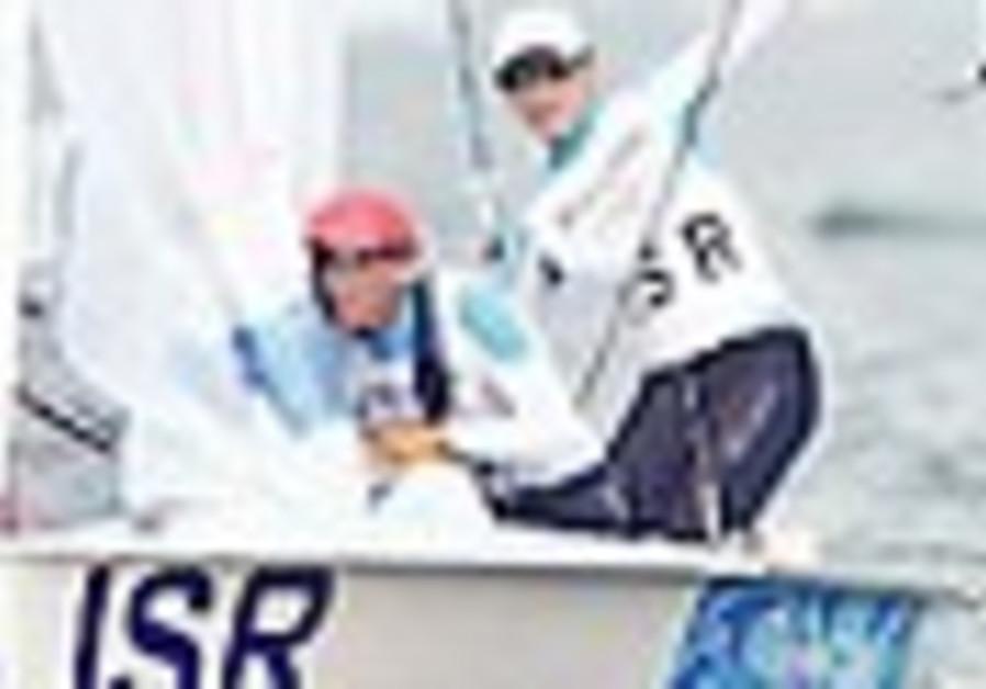 Sailers Kornicki and Buskila fail in Olympic medal bid