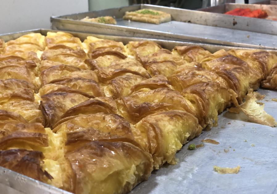 HEAVENLY PASTRY at Nasim's in Hurfeish.