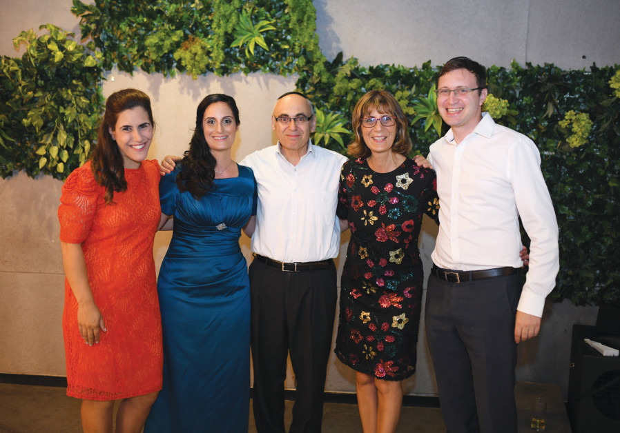 REBECCA AND Jack Samad and family. (Israel Weill)