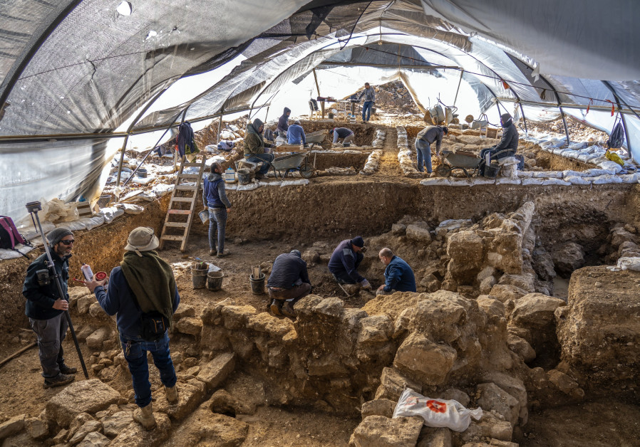 Israel Antiquities Authority Excavations at the Arnona Site from the First Temple Period Reveal the Impressive Remains of Structures (Israel Antiquities Authority)