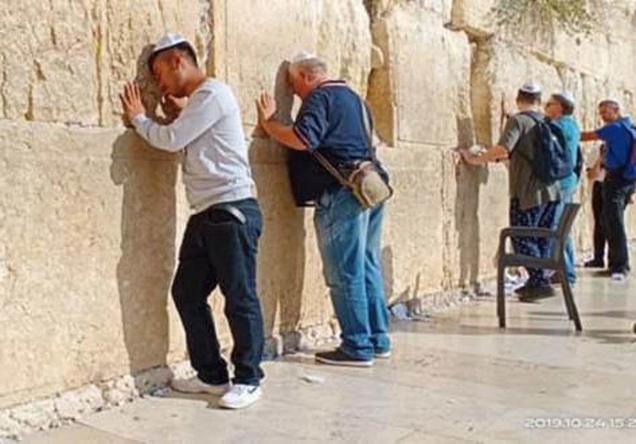 THEAM MENGLEANG, of Cambodia: 'There is a great place in Israel called the Western Wall.'