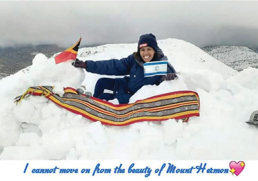 AUGUSTA GLORIA DE JESUS of East Timor, at Mount Hermon: 'I just can't get over the beauty of this place.'