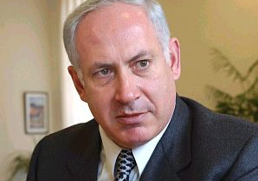 Bibi encourages Olmert to meet Abbas