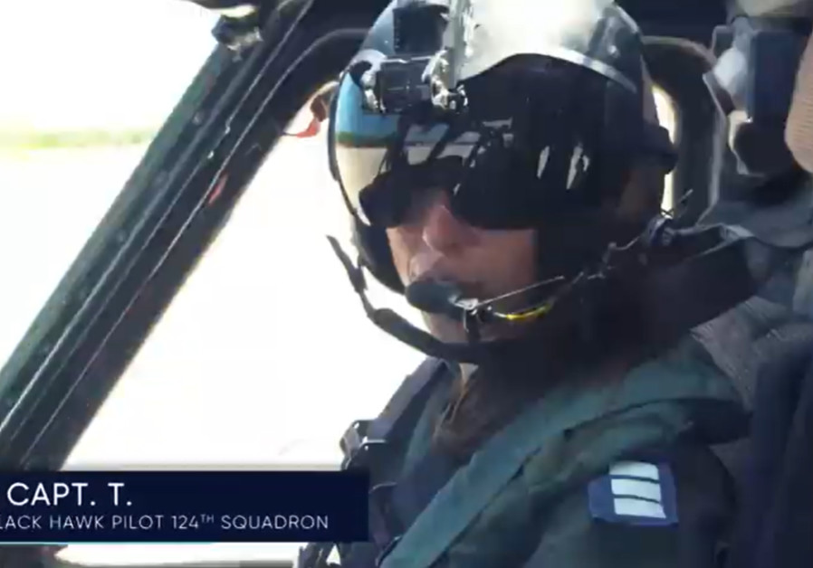 Black Hawk pilot Captain T. in ' Air, Land, and Sea' at FIDF Gala (FIDF)
